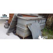 Tanque  banho Galvanoplastia banho anodização 2000L C6040