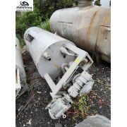 Tanque batedor misturador 3000 litros 5cv aço carbono C6075