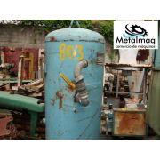 Tanque Cilindro Pulmão Compressor 350L 10Bar com NR13 C803
