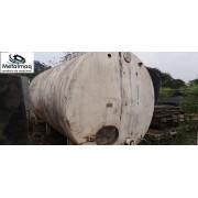 Tanque inox 20000L Laticinios revestimento térmico C6267