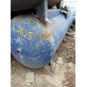 Tanque Pulmão cilindro Compressor 500L 12 bar com NR13 C2625