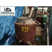 Tanque Reator De Inox Para Pressão 0,60x0,50m - C799