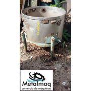 Tanque reservatório de aço inox 100 litros- C1090