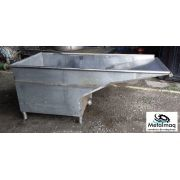 Tanque reservatório de Inox  1000 litros C6062