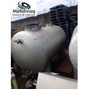 Tanque reservatório de Inox 2500 litros C1878
