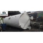 Tanque reservatório vertical 15000 litros aço carbono C6157