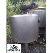 Tanque resfriador de leite Laticìnios Inox 2500 Litros C6275