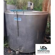 Tanque resfriador de leite Laticìnios Inox 3000 Litros - C6278