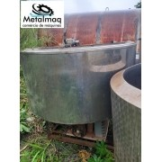 Tanque resfriador de leite Laticìnios Inox 4000 Litros C6276