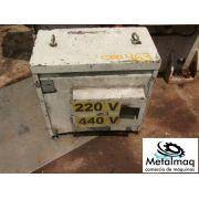 Transformador A Seco 50 Kva 220/440 - 380v- C463