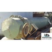 Trocador de Calor p/ coluna destilação reator inox - C6159