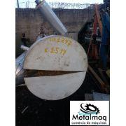 Trocador de calor tubular de aço inox 3,20 Comprimento x 70Ø- C1247