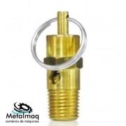 Válvula de segurança 125lbs p/ compressor de ar (baixa) - C2688
