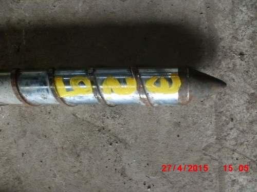 Rosca Para Extrusora Sopradora Sopro Injetora 1,70x70mm-  C329  - Metalmaq