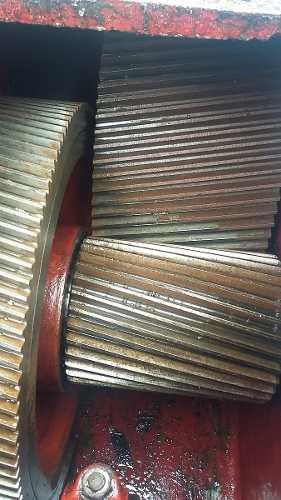Redutor para extrusora de plástico 1:14 aprox 200 cv- C93  - Metalmaq