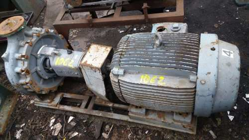 Bomba Dágua Com Motor 75 Hp 75 Cv 1750 Rpm- C1062  - Metalmaq
