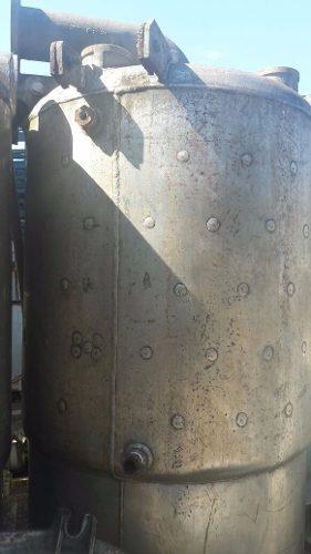Tanque Reator de aço inox Misturador encamisado 1200 Lts- C716  - Metalmaq