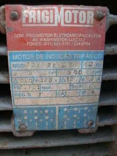 Esmeril Politriz Industrial 3cv 900 Rpm- C637  - Metalmaq