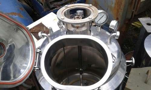 Tanque Misturador Batedor Reator De Inox 300 Litros- C1387  - Metalmaq