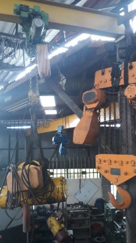 Talha Elétrica Cabo Ou Corrente 4 Mov 2000 Kg 2 Ton C2514  - Metalmaq