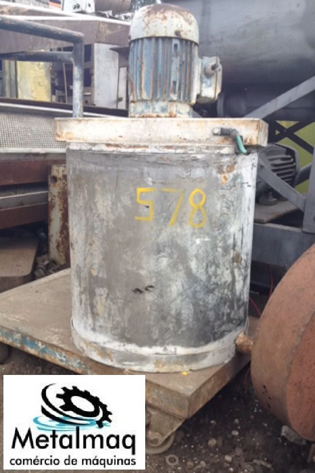 Batedor misturador motor de 1,5hp 65 litros- C578  - Metalmaq