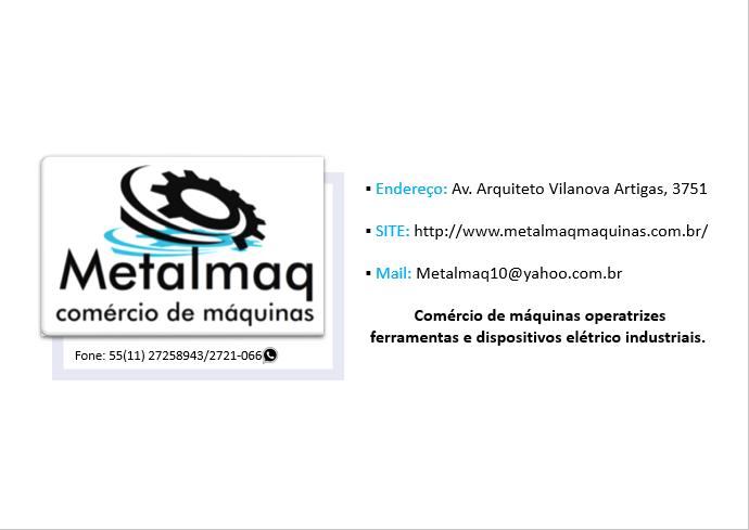 Centrifuga De Inox Horizontal medida  50x85 - C999  - Metalmaq