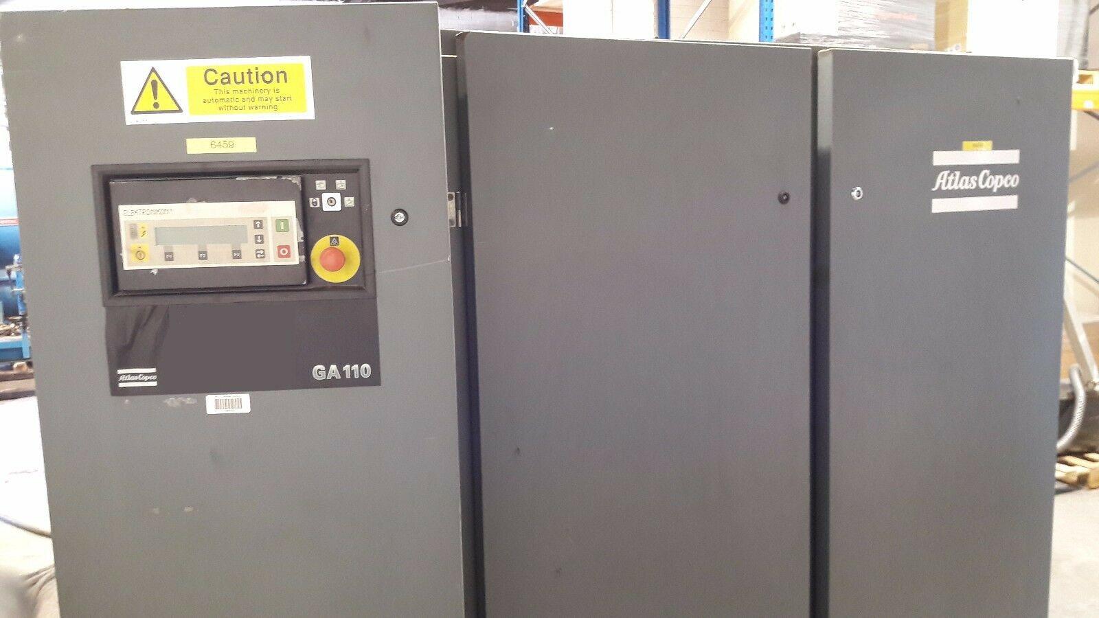 Compressor Parafuso Ga110 150hp 13Bar 600pés Revisado C132  - Metalmaq