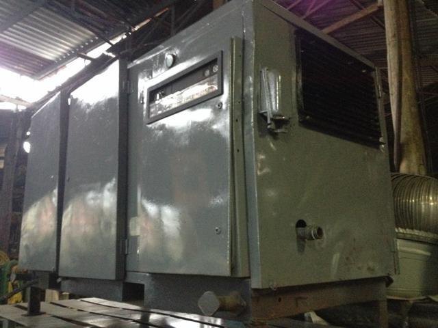 Compressor Parafuso GA 507 60 hp 7 bar GA 45 Atlas Copco Revisado 240 pés- C141  - Metalmaq