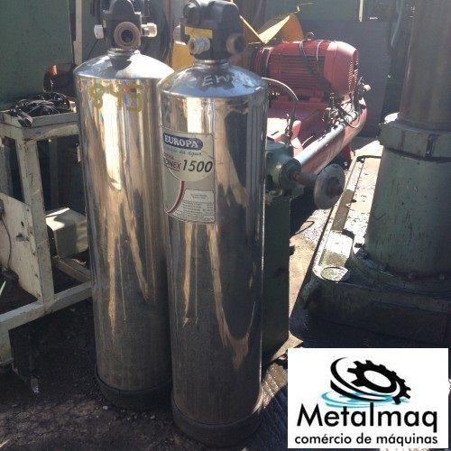 Filtro De Água Industrial Europa 1500 De Inox- C845  - Metalmaq