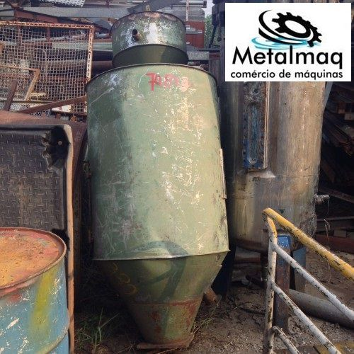 Funil De Aço Inox Para Injetora E Extrusora- C389  - Metalmaq