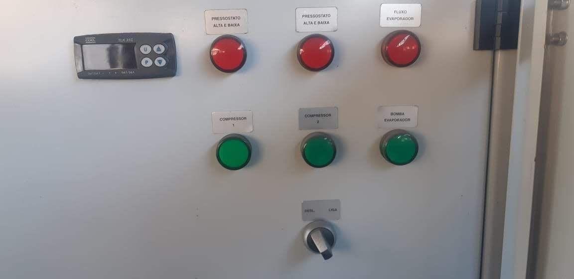 Geladeira Chiller água gelada 75.000 kcal Refriac 2014 C1938  - Metalmaq