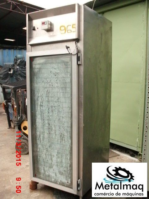 Geladeira Industrial De Inox - C965  - Metalmaq