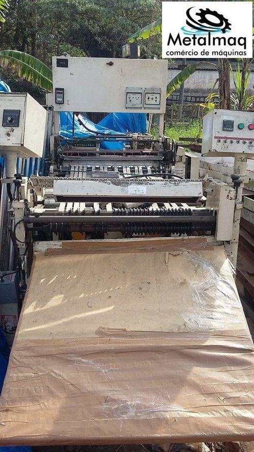 Máquina De Corte E Solda Seladora Sacoleira-cód 1028  - Metalmaq