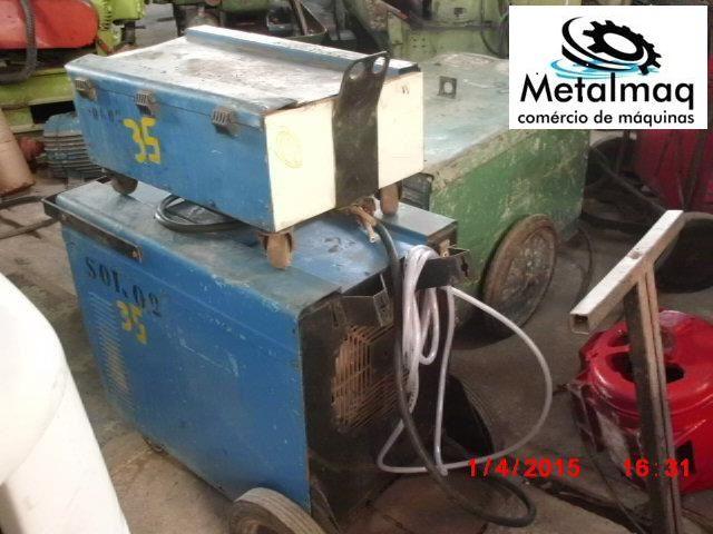 Máquina de solda Mig 450a usada- C35  - Metalmaq