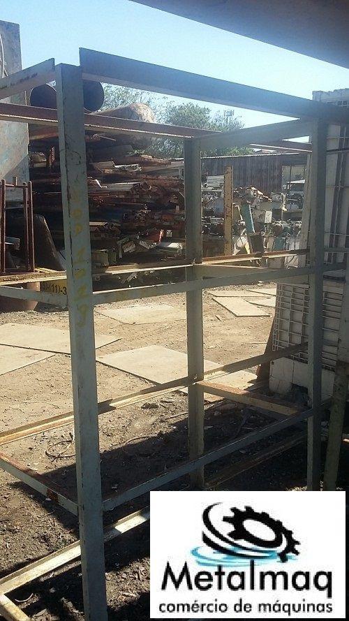 Prateleira Porta Pallet Resistente 120 Kg- C1019  - Metalmaq