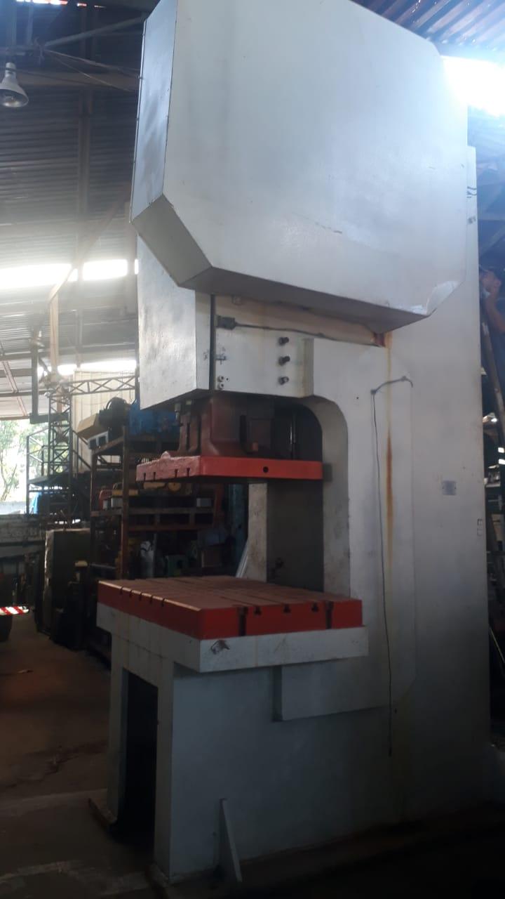 Prensa Excêntrica Freio Fricção 200 Ton Schuller C1927  - Metalmaq