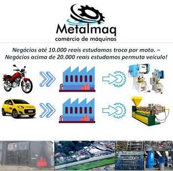 Prensa Excêntrica Freio Fricção Ergon 80 Ton P Reforma- C1237  - Metalmaq