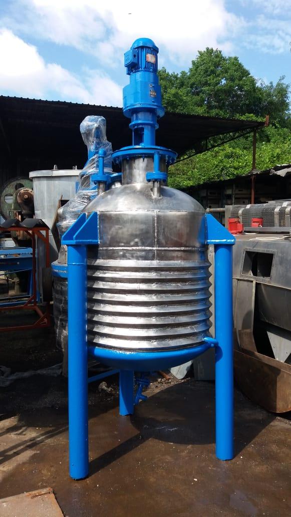 Reator batedor de inox 850 Litros -C266  - Metalmaq