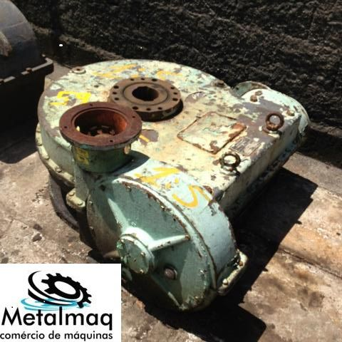 Redutor De Velocidade 1:5 Para Motor Elétrico- C59  - Metalmaq