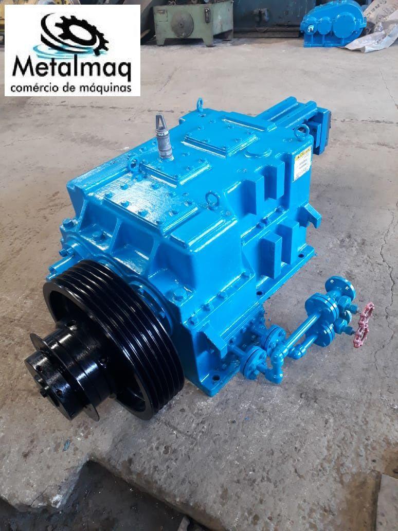 Redutor Dupla Rosca 60mm para motor 150 hp C1791  - Metalmaq