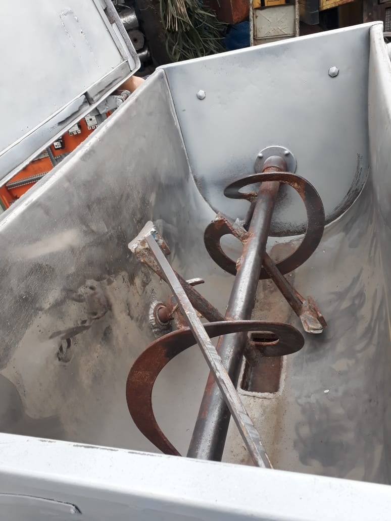 Ribbon Blender Misturador De Inox 1230x630mm- C624  - Metalmaq