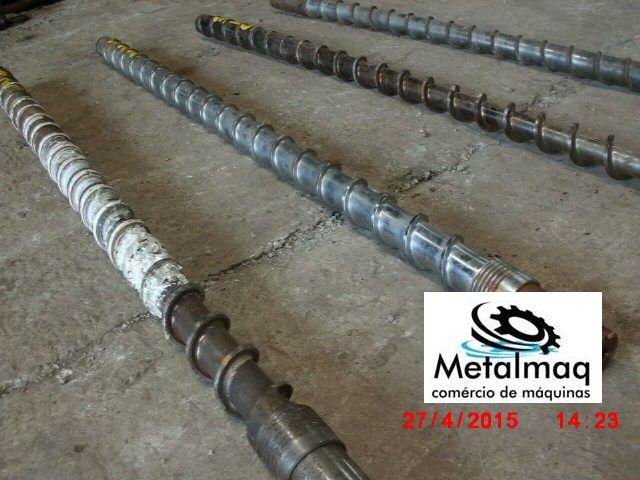 Rosca Para Extrusora Sopradora Sopro Injetora 1,70x70mm-  C322  - Metalmaq