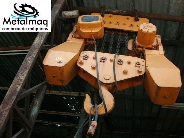 Talha Elétrica 20 Ton de Corrente KITO  - C116  - Metalmaq