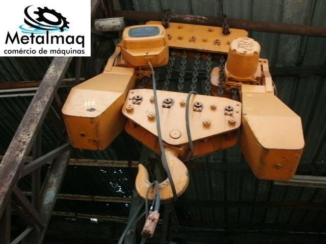 Talha Elétrica 20 Ton de Corrente KITO - C117  - Metalmaq