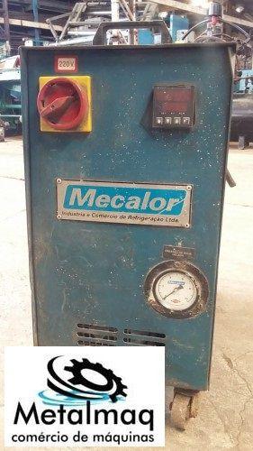 Termoregulador aquecedor óleo molde injeção 35° a 85°C 9kw- C1120  - Metalmaq
