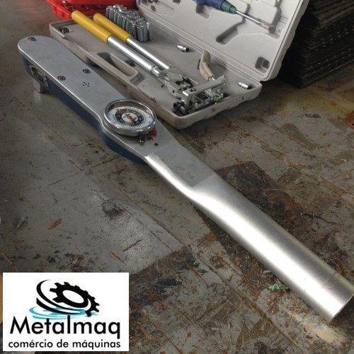 Torquímetro Gedore 1000 Lbfpé- C749  - Metalmaq