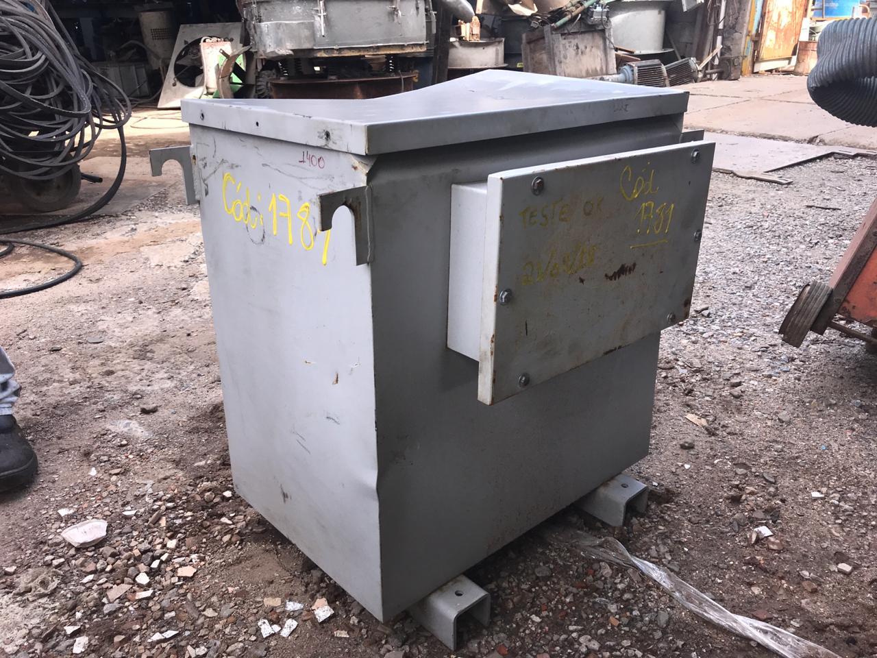 Transformador a seco 30kva 220/380V C1781  - Metalmaq