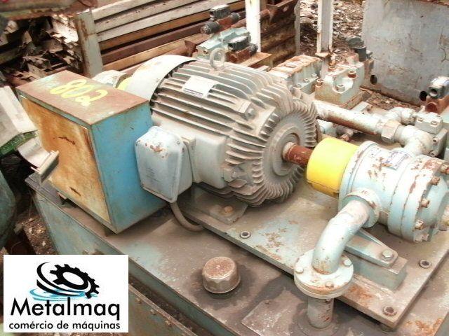 Unidade Hidráulica Motor 7,5hp - C802  - Metalmaq