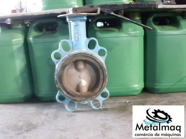 Válvula Borboleta 1 1/2 C724  - Metalmaq
