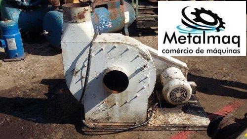 Ventoinha Ind. Transp. Extrusora Plástico 10 Cv- C354  - Metalmaq